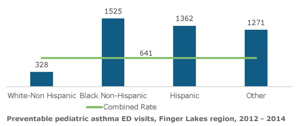Disparities in Pediatric Asthma Hospitalizations3