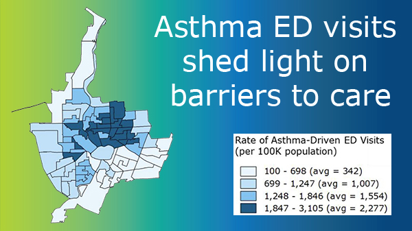 Asthma ED visits shed light on barriers to care
